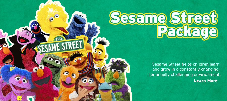 Sesame Street Package